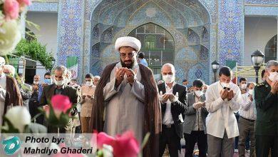 Photo of برگزاری نماز عید فطر در همدان