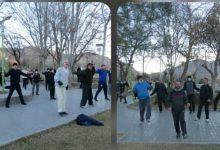 Photo of استقبال ملایری ها از همایش ورزش صبحگاهی خانوادگی