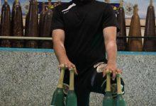 Photo of قهرمان جهانی ملایر، عضو تیم ملی ورزشهای پهلوانی و زورخانه ای کشور